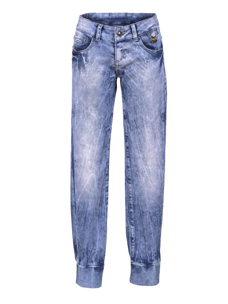 niebieskie dżinsy Troll - letnia kolekcja
