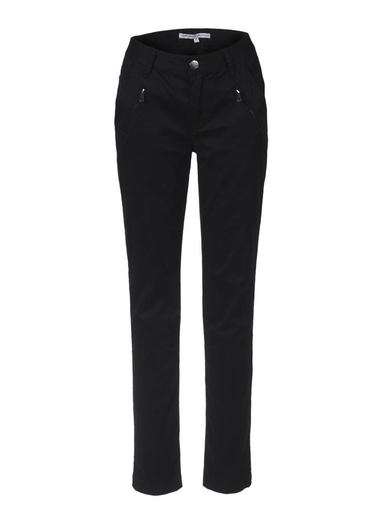 czarne spodnie Troll z wysokim stanem - wiosna-lato 2011