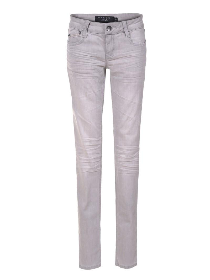 szare spodnie Top Secret - wiosna 2011