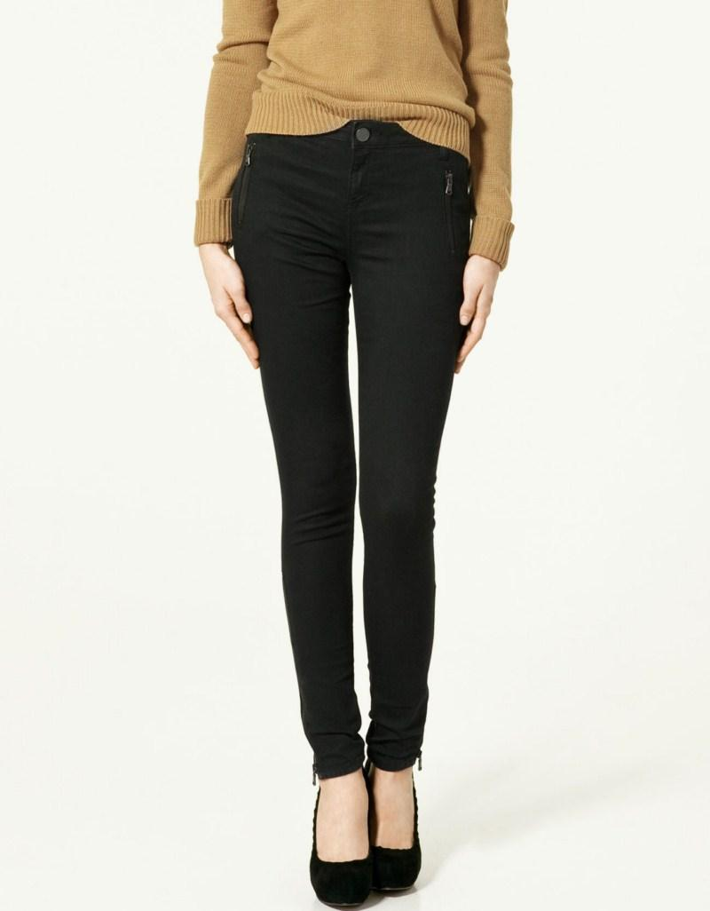czarne spodnie ZARA - kolekcja wiosenna