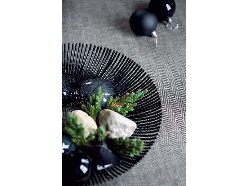 len, dekoracja świątecznego stołu, wnętrze