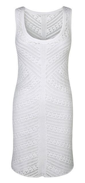 biała sukienka Stradivarius - wiosenna kolekcja