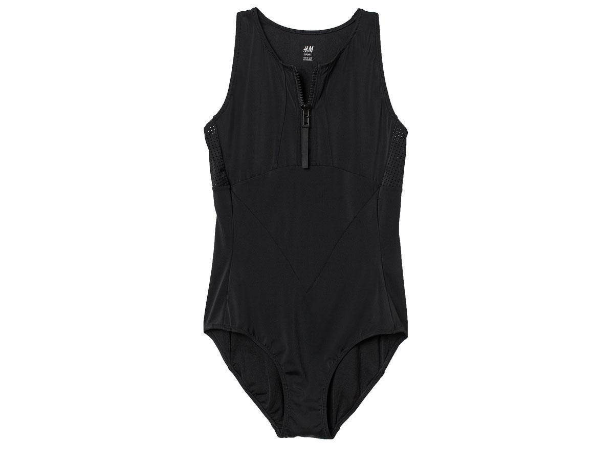 Sportowy kostium kąpielowy, H&M, cena ok. 139,99 zł