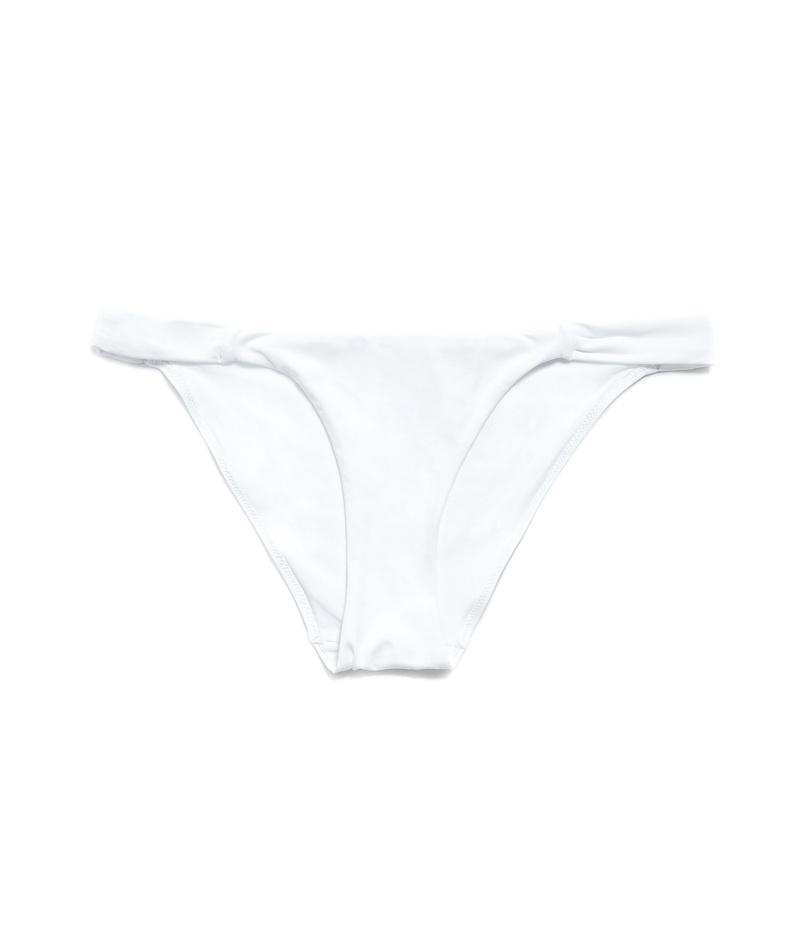 dół bikini ZARA w kolorze białym - lato 2013