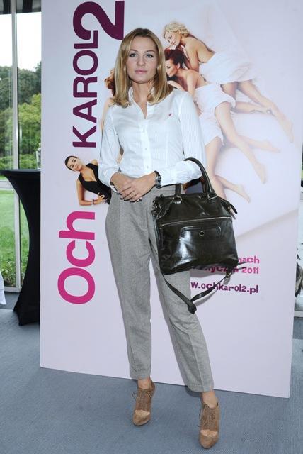 Styl gwiazd: Małgorzata Socha zawsze w dobrym stylu - galeria