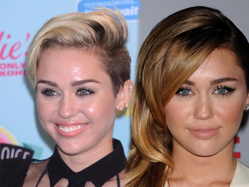 Miley Cyrus w krótkich włosach