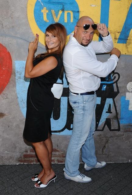 Katarzyna Skrzynecka, Piotr Gąsowski, gwiazdy, fot. MWmedia