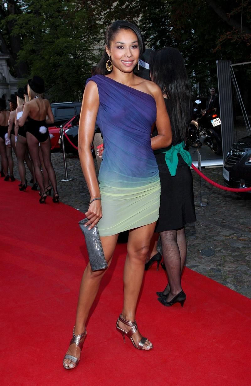 cieniowana sukienka - Omena Mensah