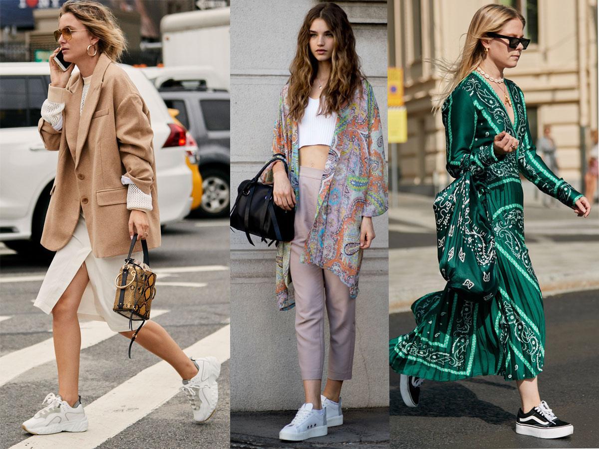 Modne stylizacje z butami na platformie
