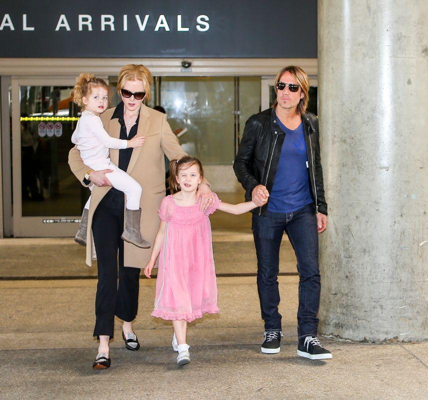Nicole Kidman z rodzinką