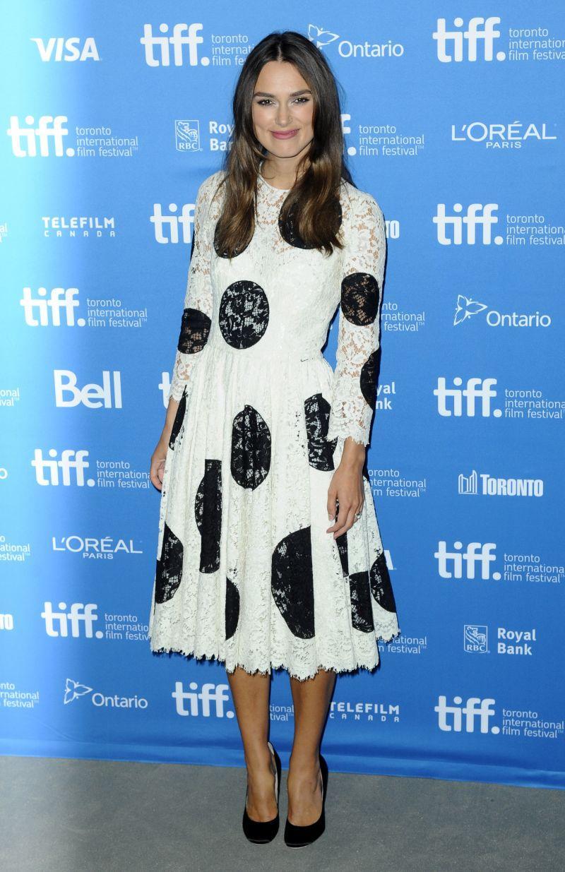 Festiwal Filmowy w Toronto 2014: Keira Knightley