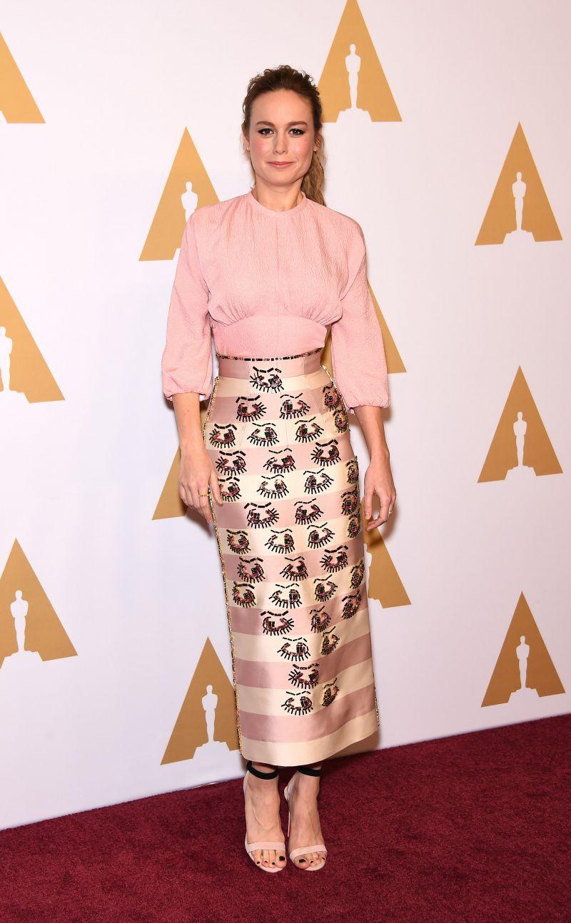 Oscar Nominees Luncheon 2016: Brie Larson