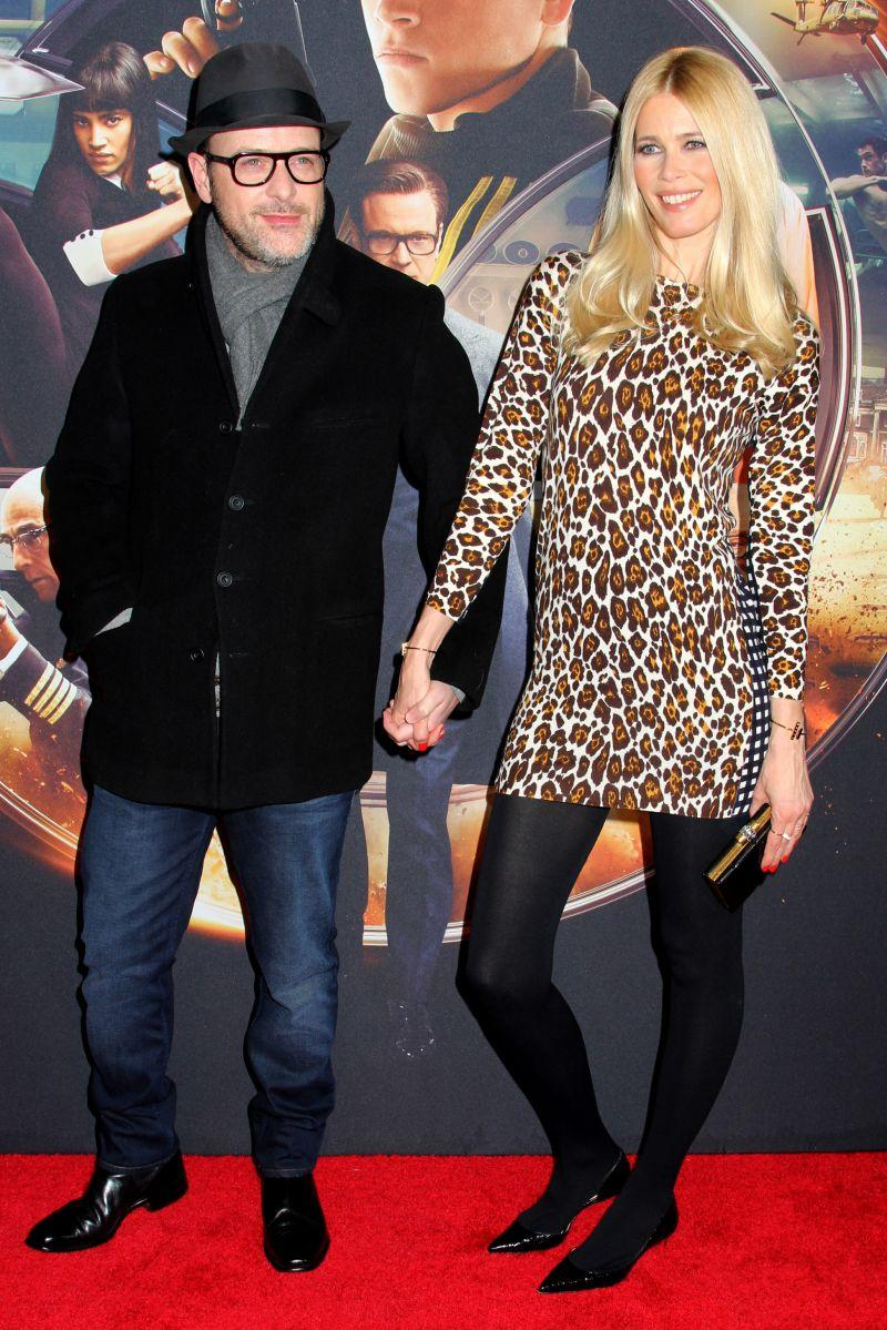 Premiera Kingsman: Claudia Schiffer