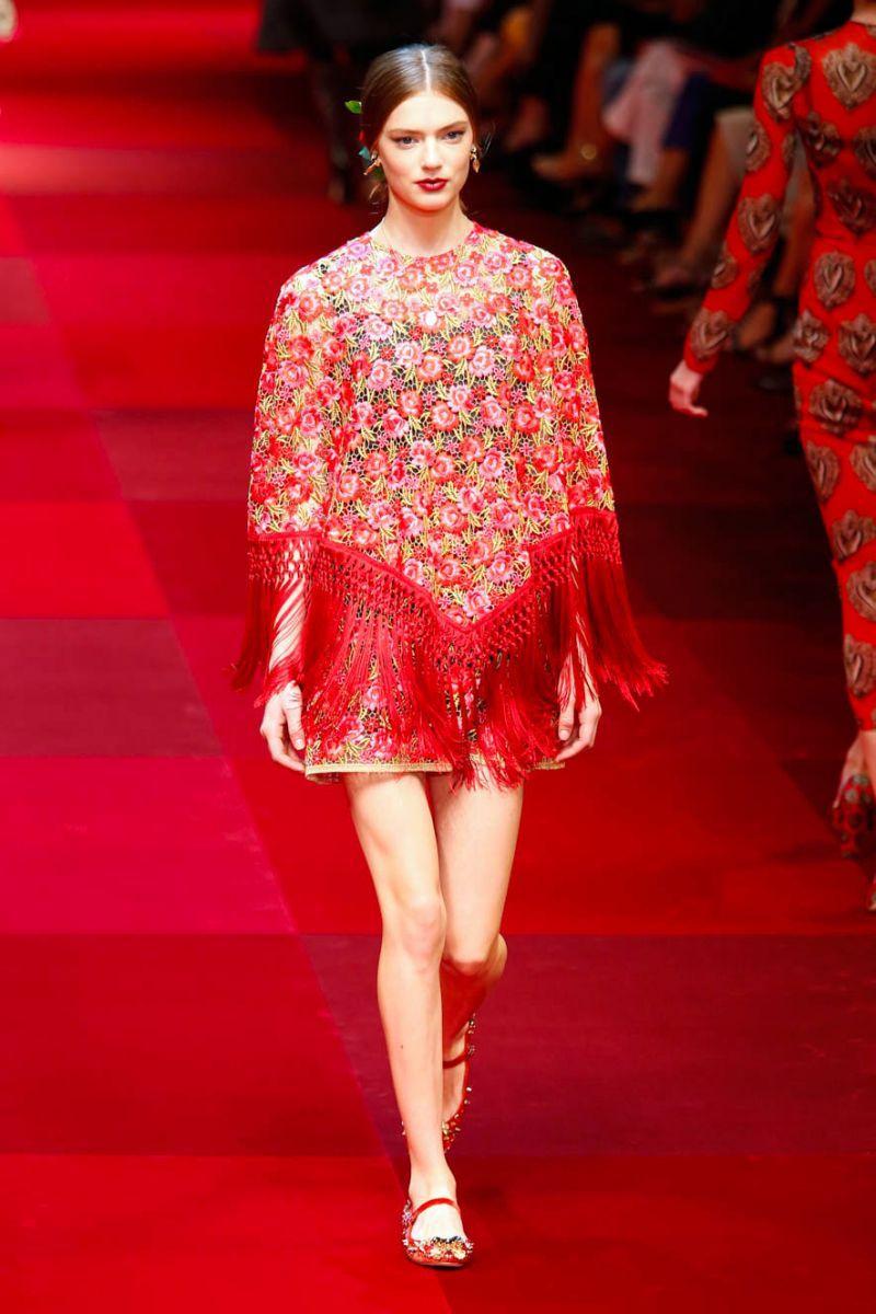 Dolce & Gabbana - kolekcja wiosna-lato 2015