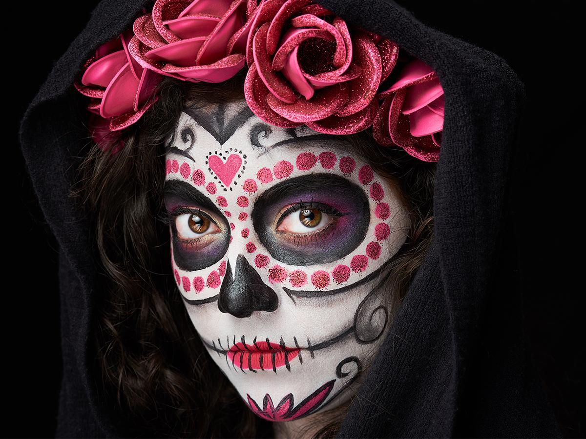 Sugar skull makijaż