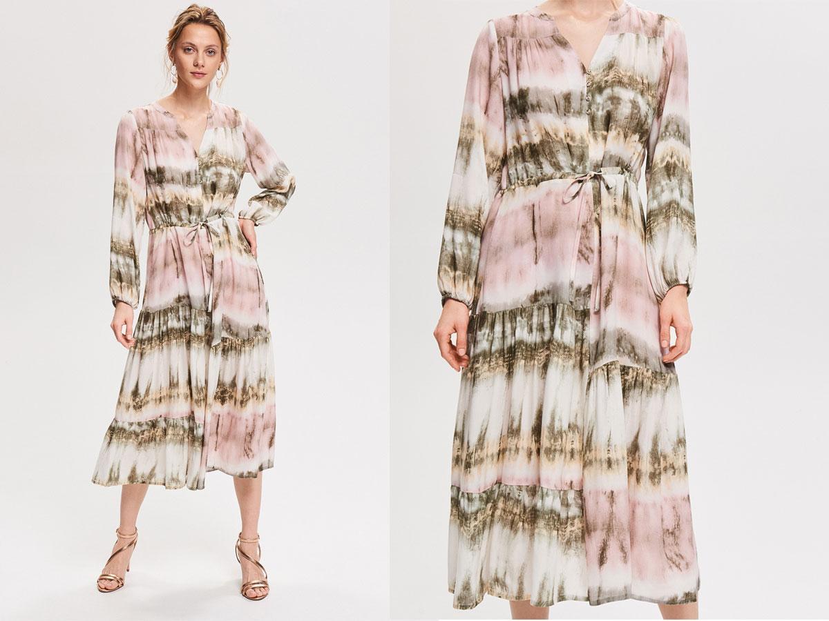 Sukiena midi, Reserved, cena ok. 179,99 zł
