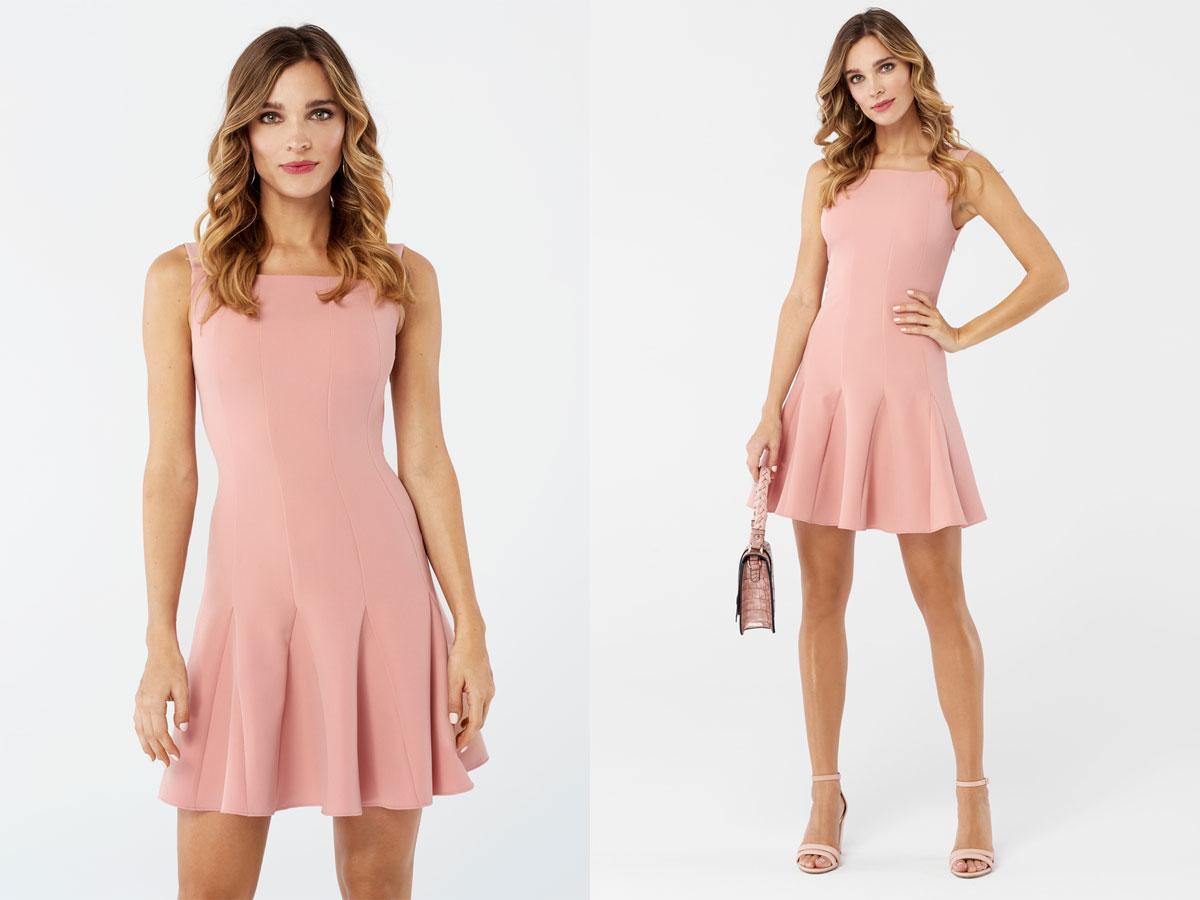 5e1ea0fbcd Różowa sukienka