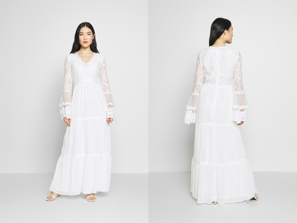 Suknia ślubna na ślub cywilny długa
