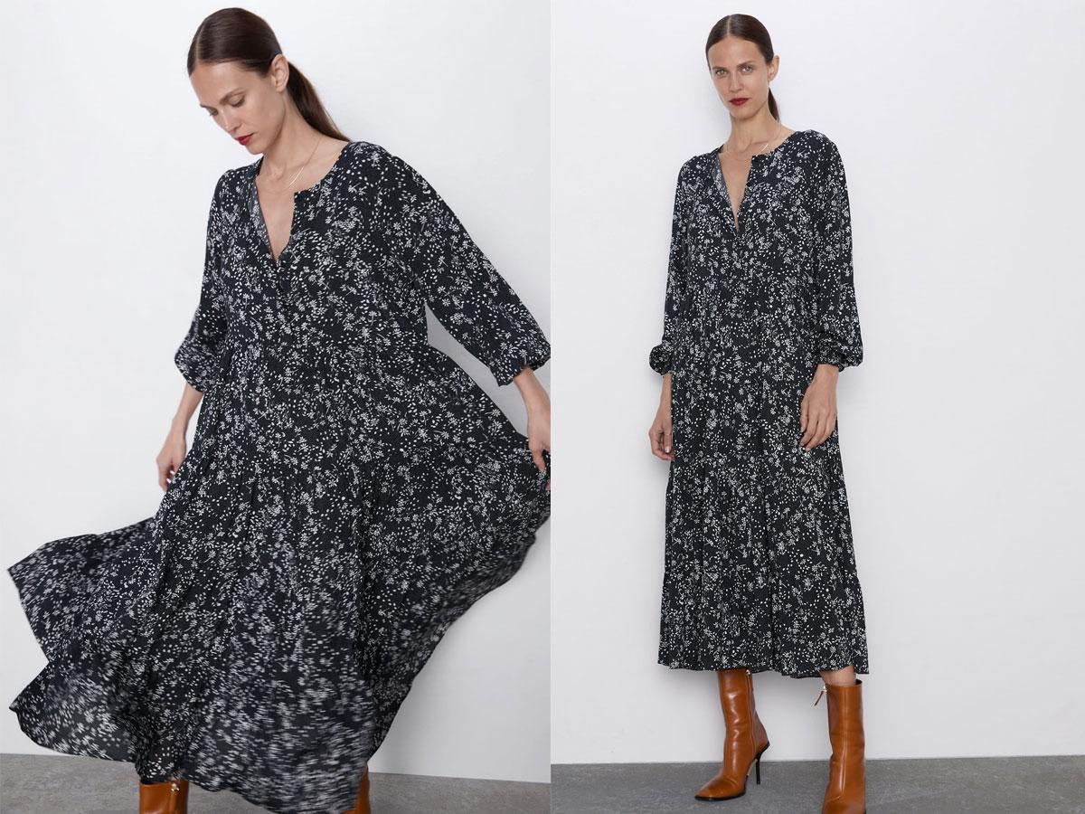 Sukienka namiotowa z Zary