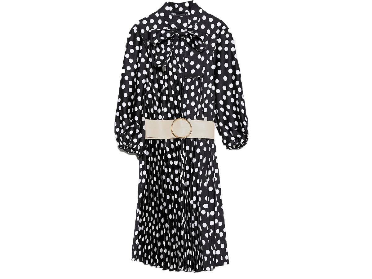sukienka w grochy Zara