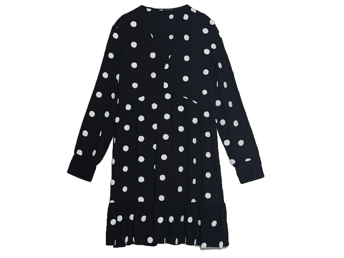 Sukienka w groszki z Zary