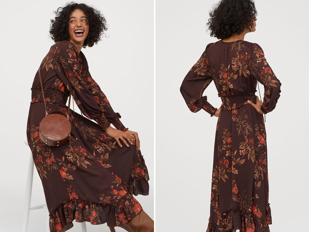 Sukienka w kwiaty z H&M kolejnym hitem Instagrama. Kosztuje