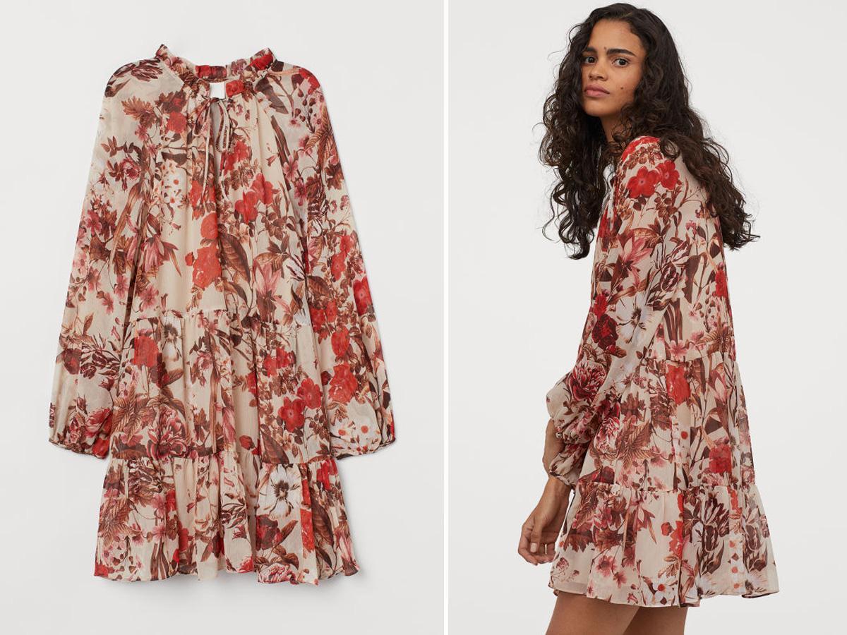 Ta sukienka z H&M wyprzedaje się w błyskawicznym tempie
