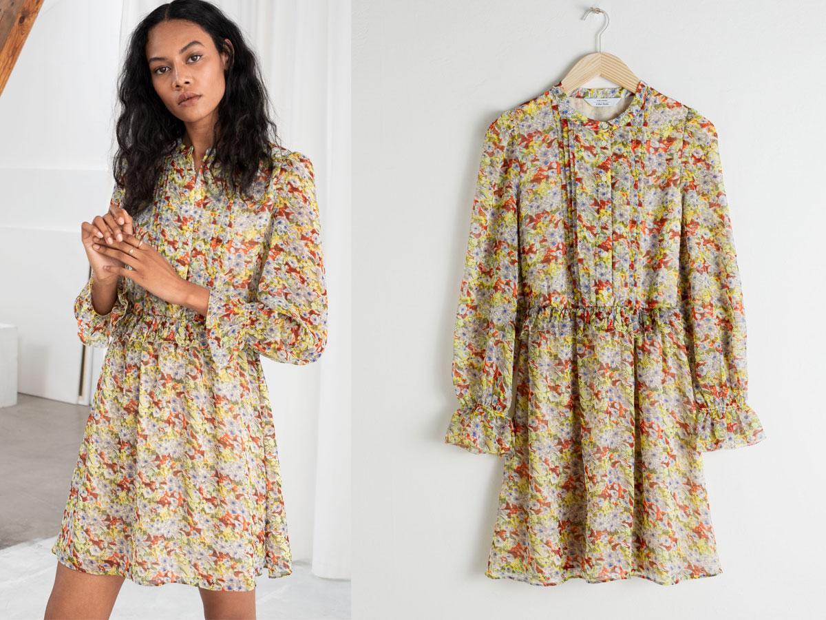 Sukienka w kwiaty księżnej Kate z &Other Stories - cena