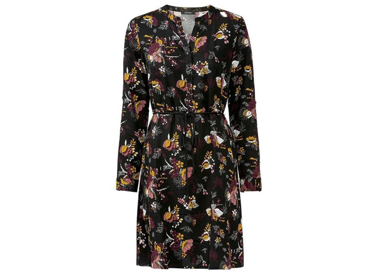 sukienka w kwiaty z Lidla