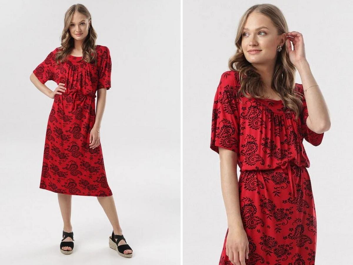 sukienka w stylu Małgosi Sochy