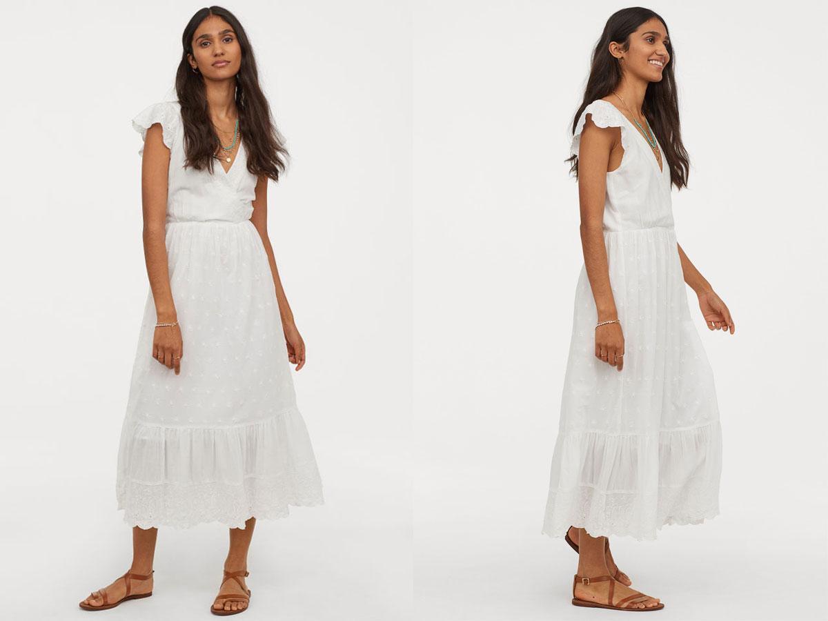 Sukienka w stylu rustykalnym lato 2019