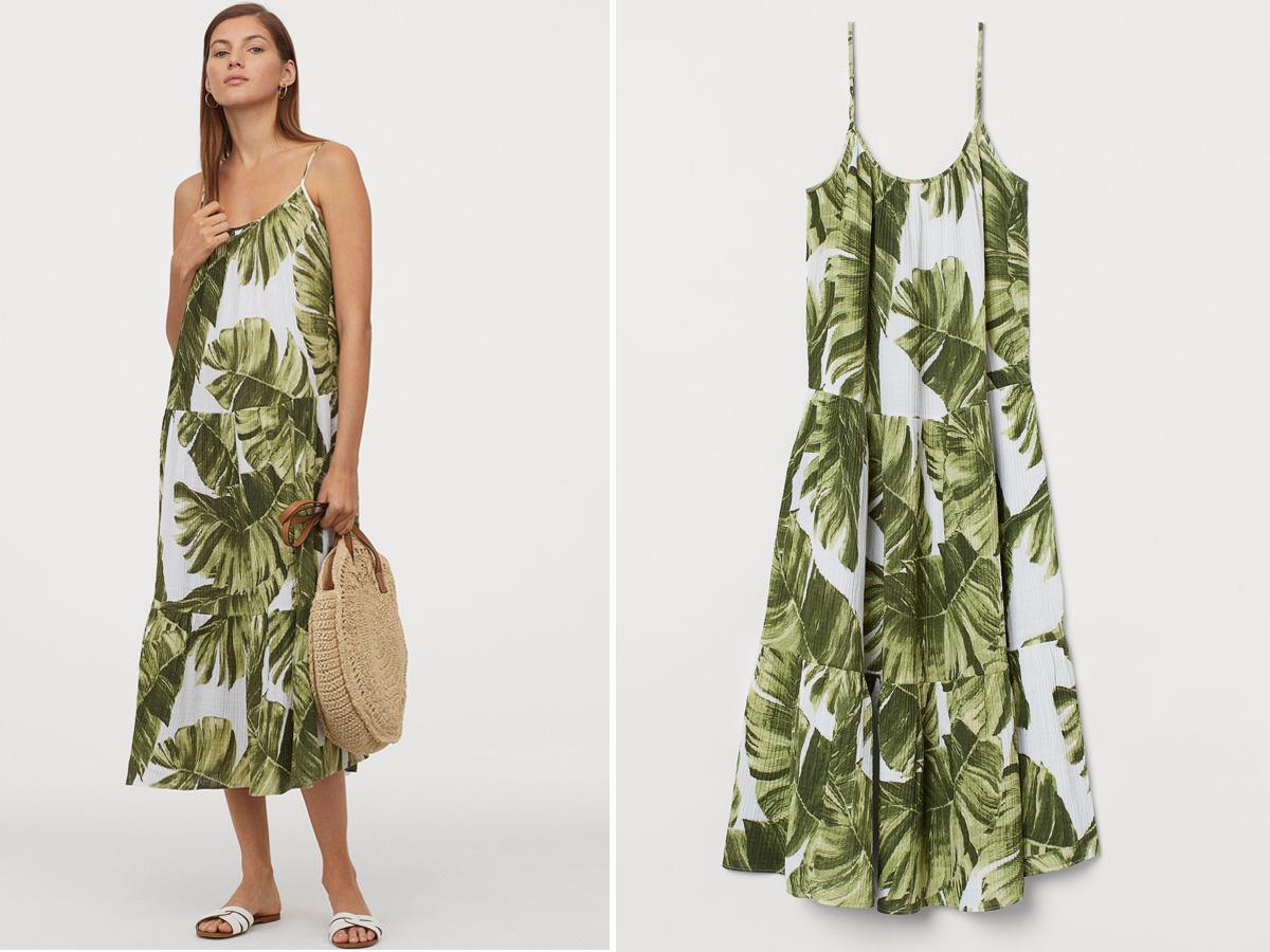 Sukienka z wyprzedaży w H&M