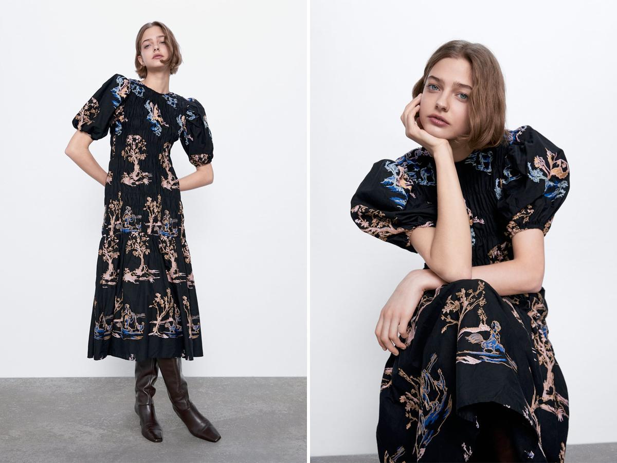 sukienka z Zary Natalii Siwiec