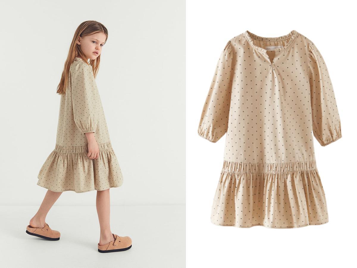 Sukienka z działu dziecięcego ZARA