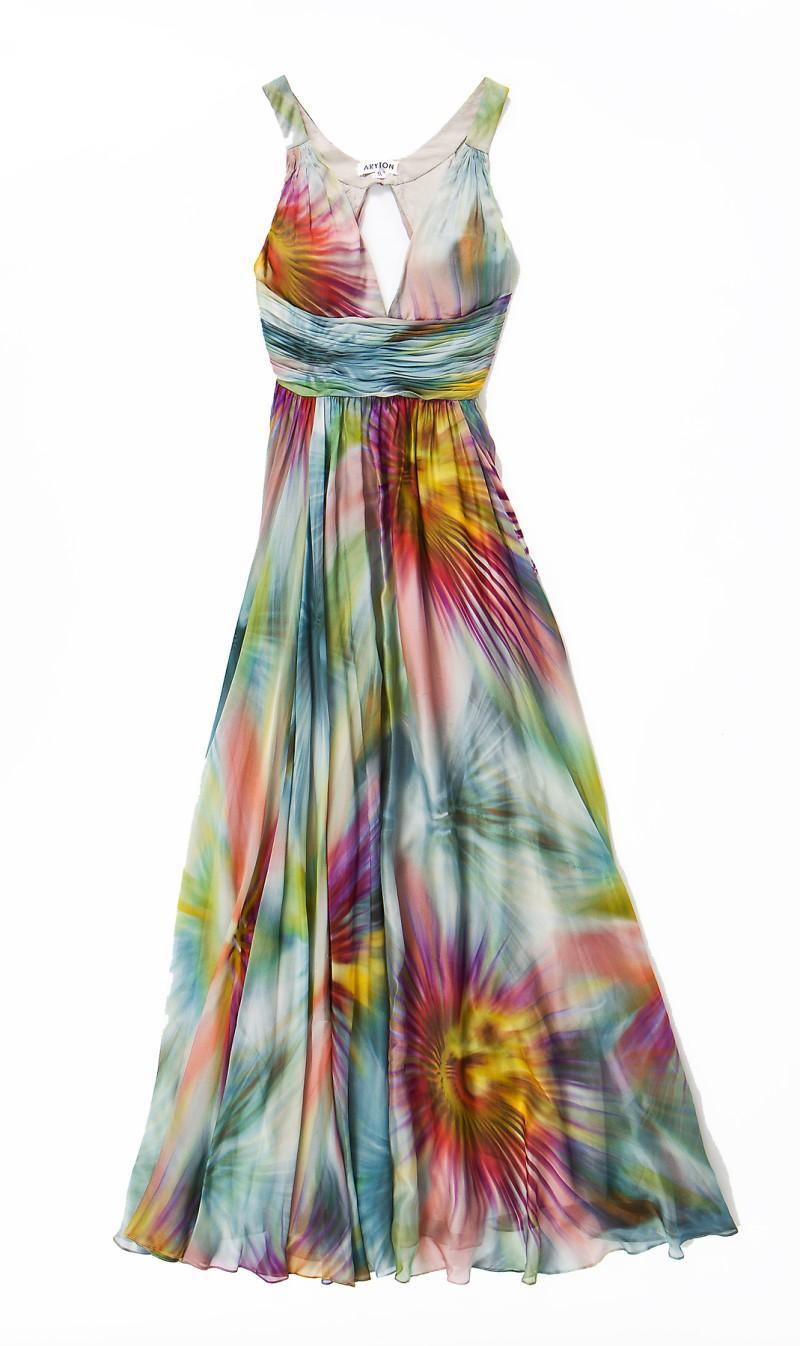 kolorowa sukienka Aryton - wiosna/lato 2011