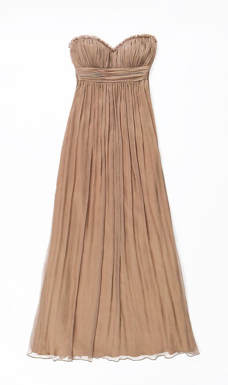 beżowa sukienka Aryton - wiosna/lato 2011