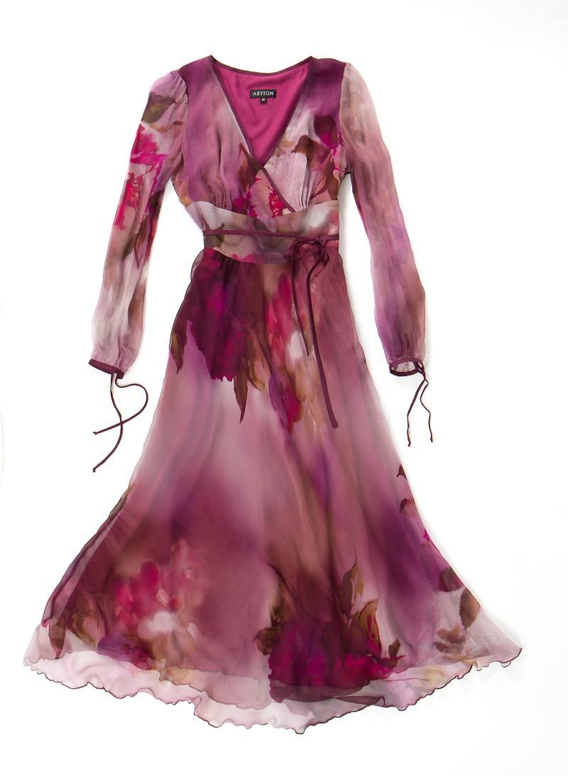 różowa sukienka Aryton - wiosna/lato 2011