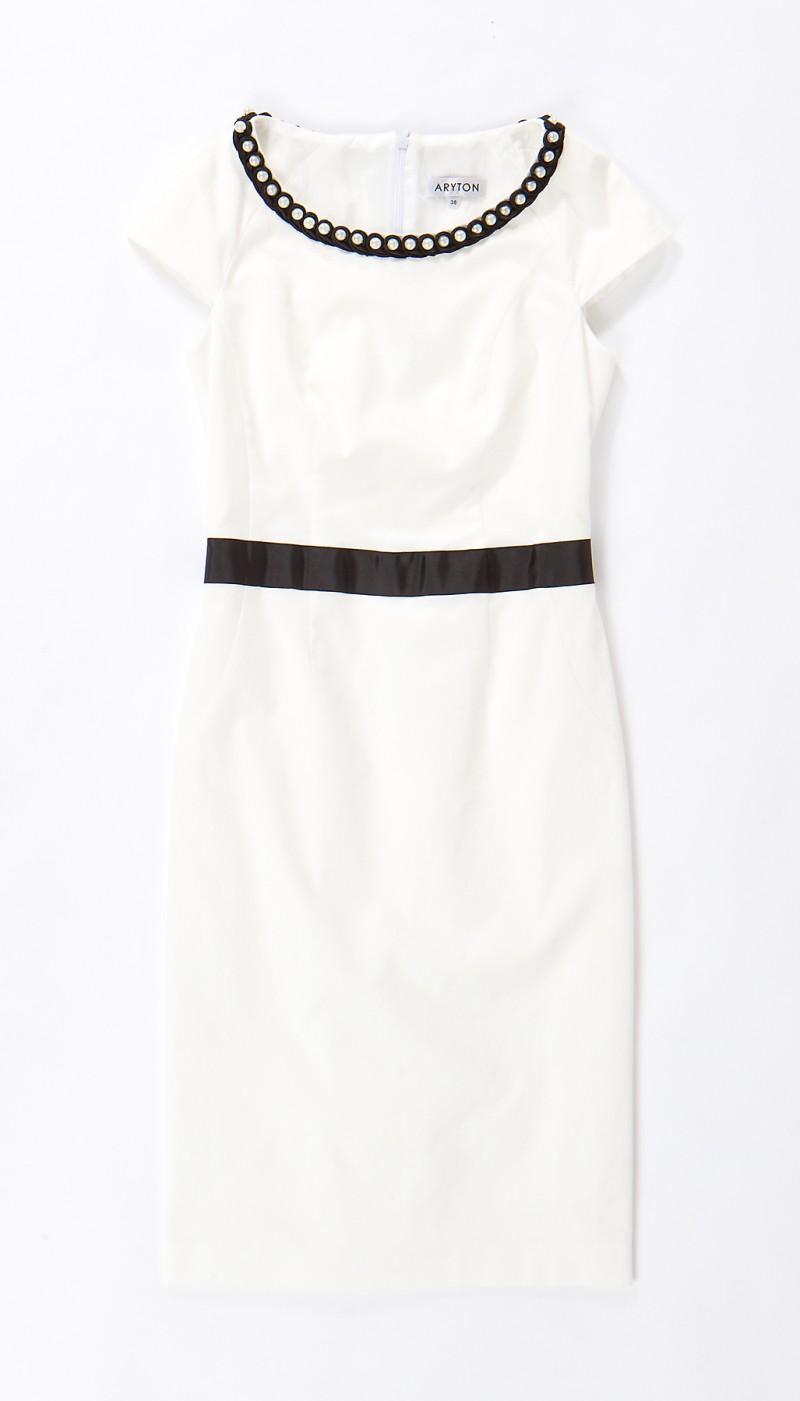 biała sukienka Aryton - wiosna/lato 2011