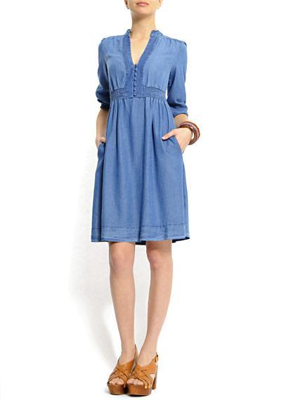 48f1f32ecb Sukienki dżinsowe z wiosennych i letnich kolekcji - Sukienki ...