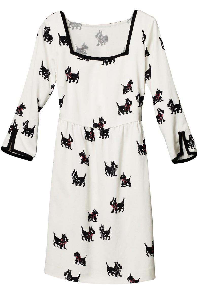 biała sukienka H&M - wiosenna kolekcja