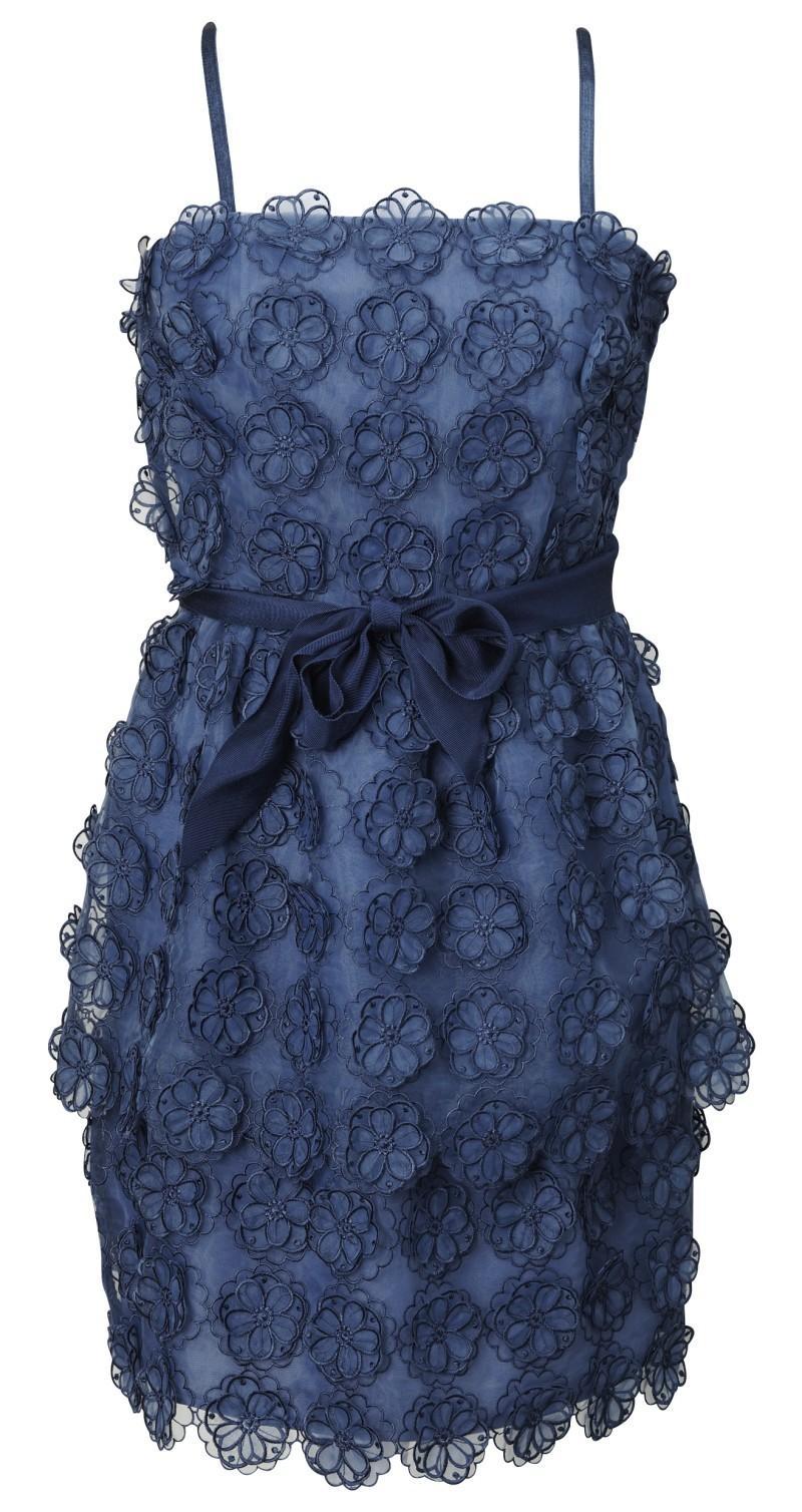 niebieska sukienka H&M - wiosna/lato 2011