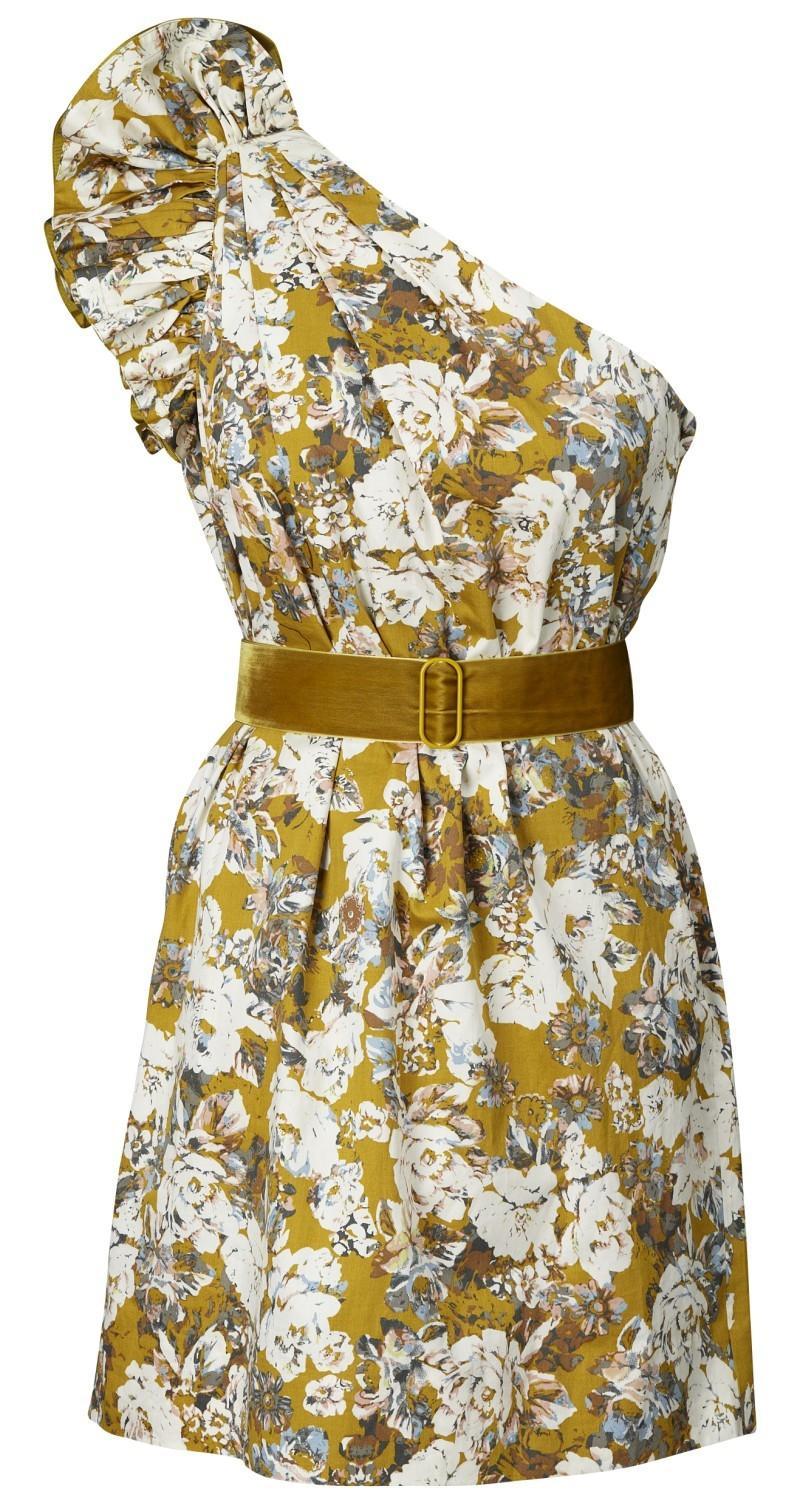 sukienka H&M w kwiaty - wiosna/lato 2011
