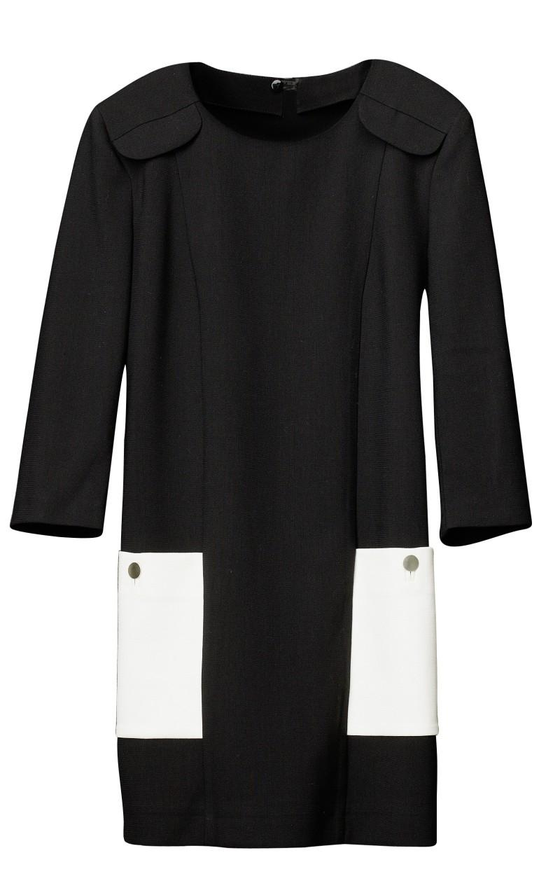 czarna sukienka H&M - wiosna/lato 2011