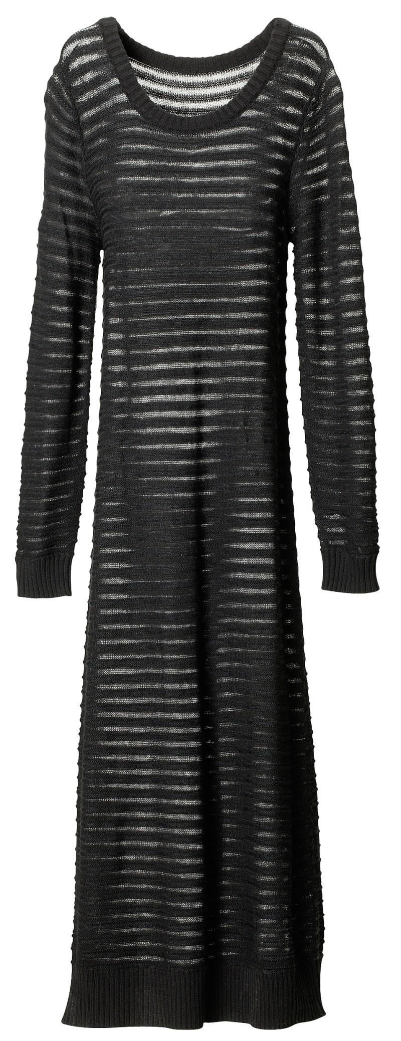 czarna sukienka H&M - jesień/zima 2010