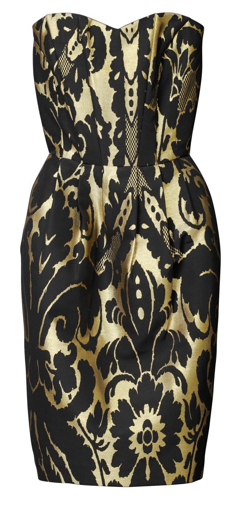 c577a8b026 Sukienki H amp M z kolekcji jesienno-zimowej 2010 2011. sukienka H M w  kwiaty ołówkowa ...