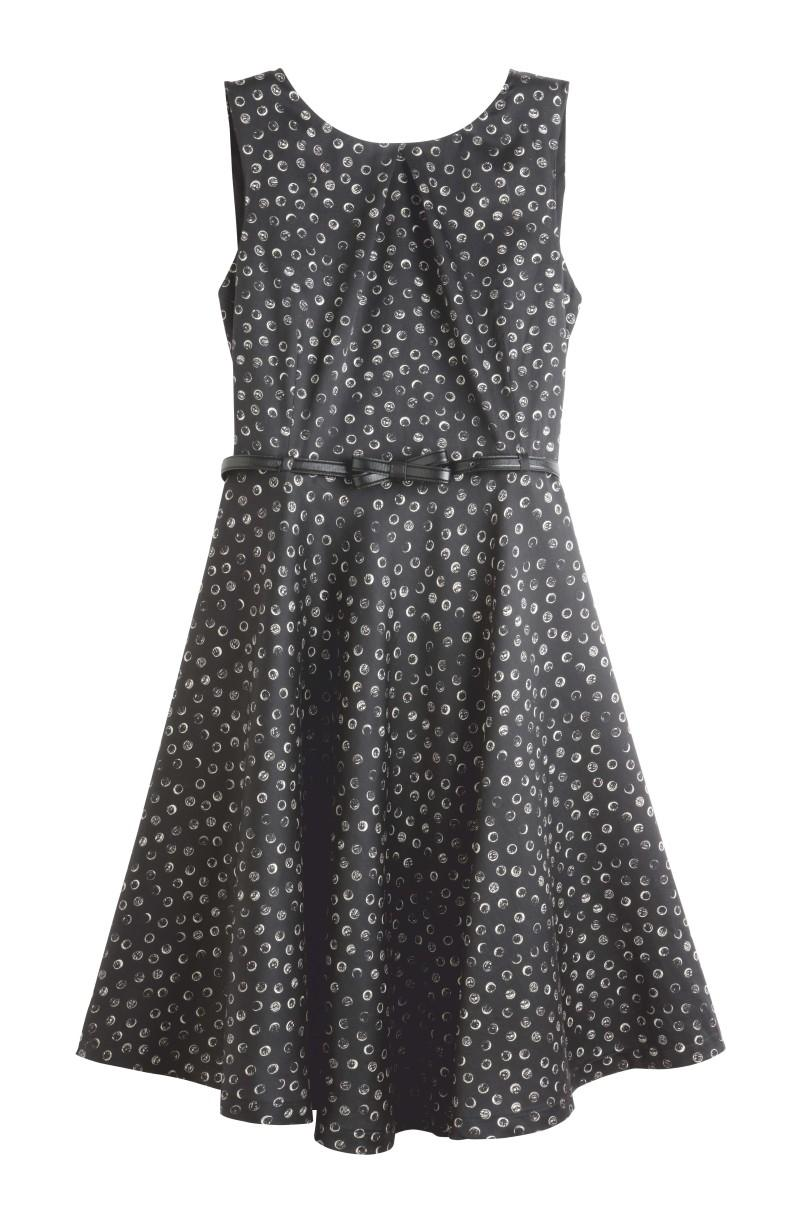 czarna sukienka Camaieu - wiosna/lato 2011