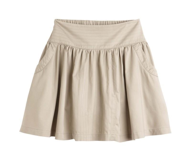beżowa spódnica Camaieu - wiosna/lato 2011