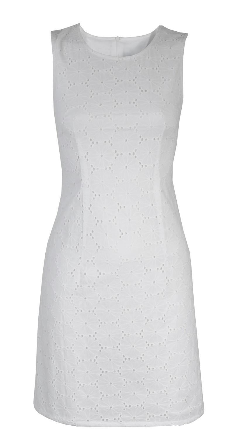 biała sukienka Camaieu - wiosna/lato 2011