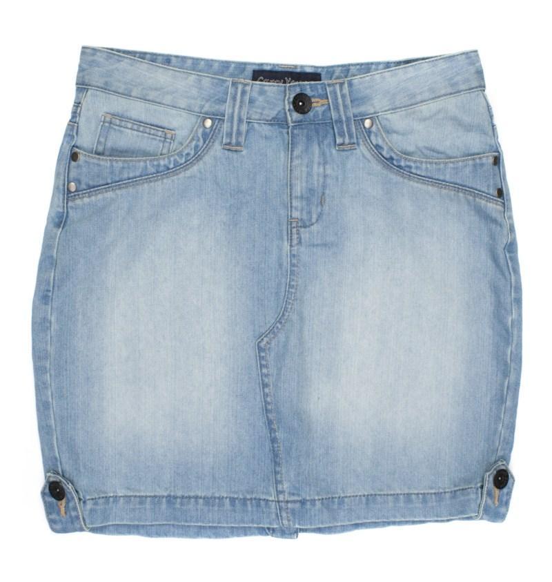 błękitna spódnica Carry dżinsowa - moda 2011