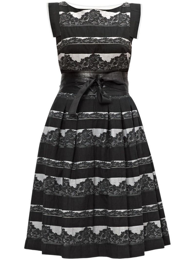 czarna sukienka Gapa Fashion - wiosna/lato 2011